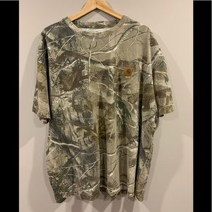 Carhartt Realtree Camouflage T-Shirt - XL